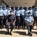 Namibian peacekeepers return from Dafur