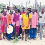 Pehovelo and Gideon host good Samaritans