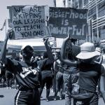 Protest against rape accused teacher on Monday