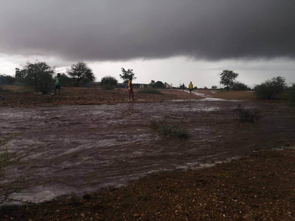 Residents Orange Riven flooding alert heavy rainfall Orange-Senqu Basin
