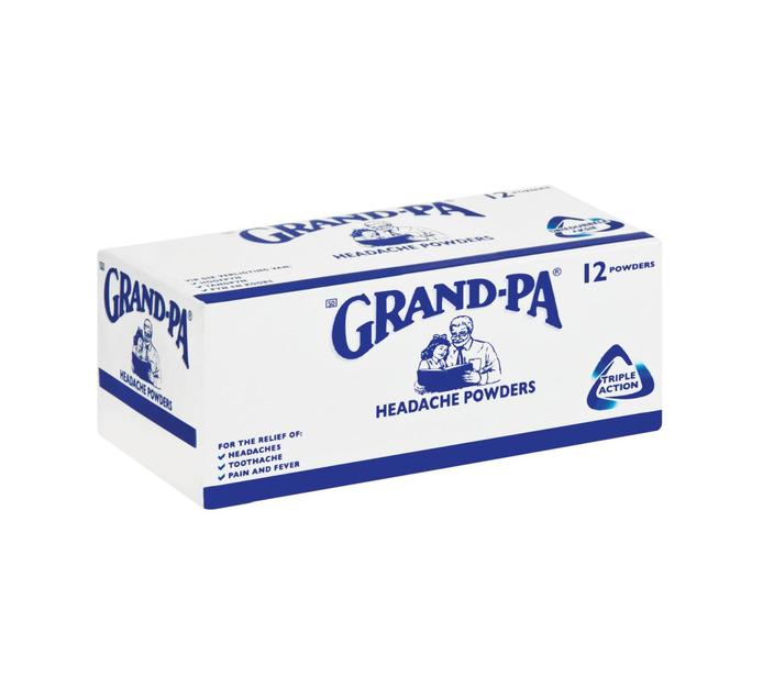 Sale Grand-pa suspended tablets powders pharmacies climatic regulations