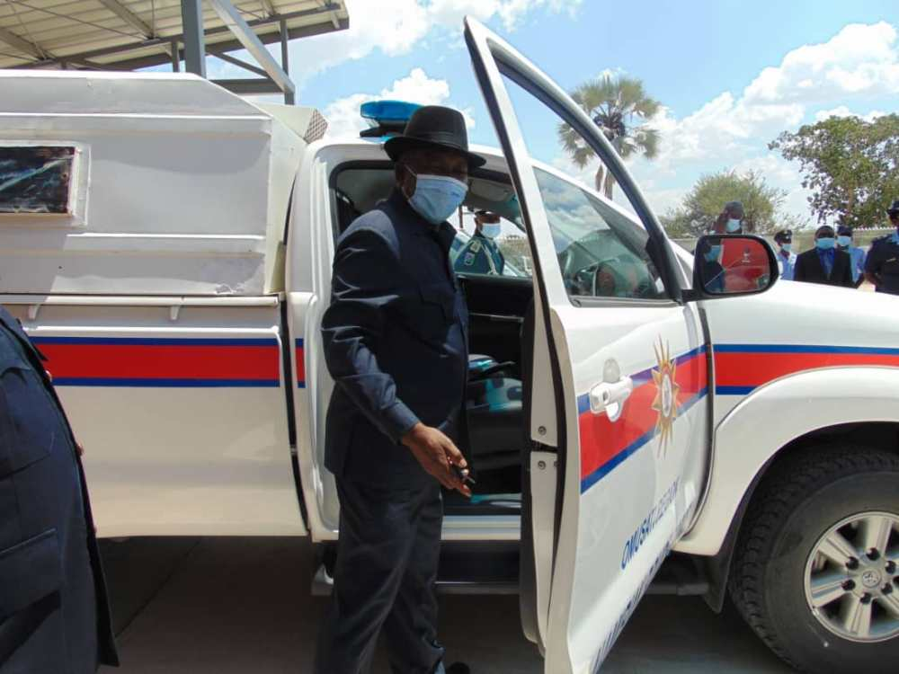 Alcohol-free zones Minister Home Affairs Immigration Safety Security Frans Kapofi Namibia