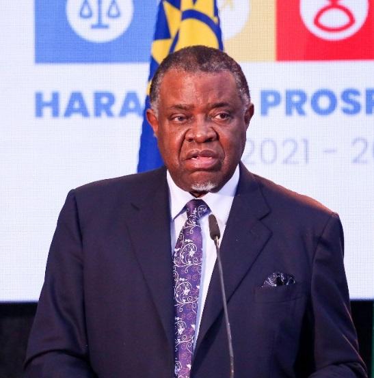 Magafuli death Hage Geingob Harambee Prosperity Plan State House