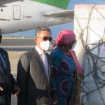 Namibia's first batch of COVID-19 vaccines arrive