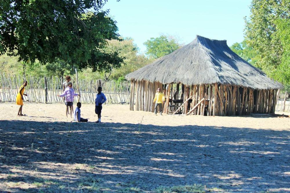 School Children drought Kunene Region survive