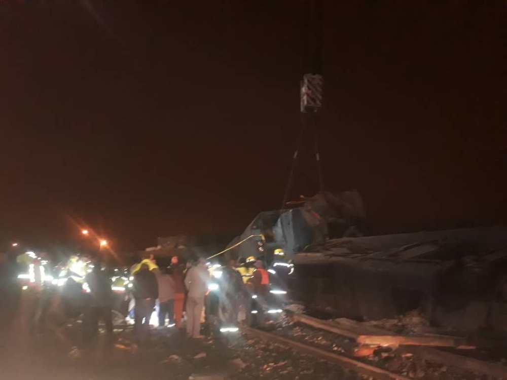 Train Accident victim identified Swakopmund emergency services recover body Wilhelm Nongameni Joseph derailed