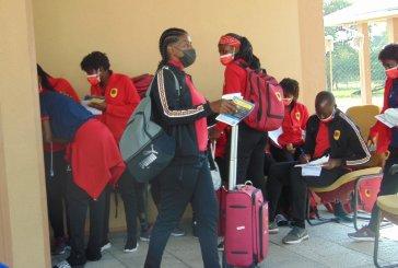 Angolan female footballers ready for Namibia
