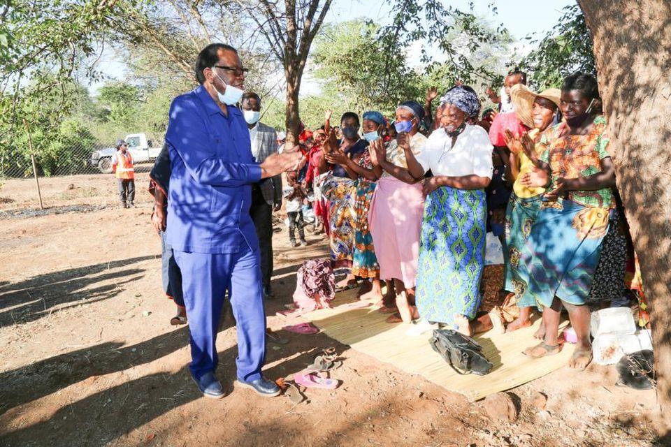 Nchindo family Hage Geingob visit family fishermen killed Botswana Defence Force