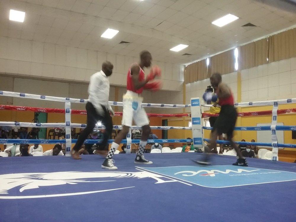 qualifying Olympics Games Tokyo COVID-19 Trofimus Johannes Namibia boxing