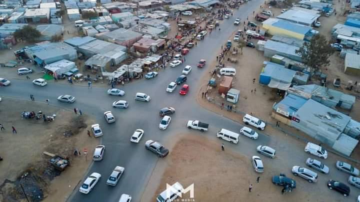 Mayor City Windhoek Job Amupanda construction traffic lights