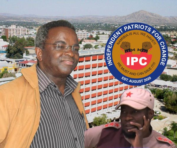 Mayor Windhoek Job Amupanda Independent Patriots Change IPC