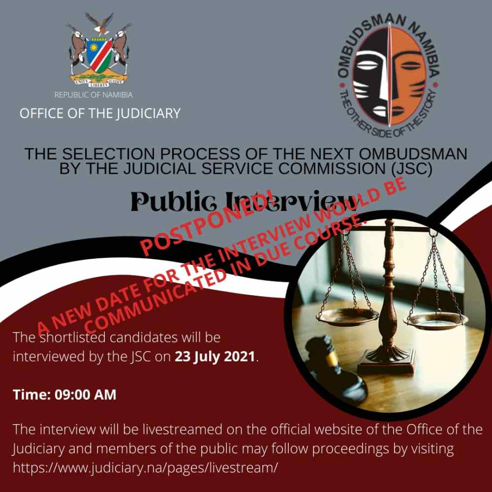 Ombudsman candidate hospitalised Judicial Service Commission