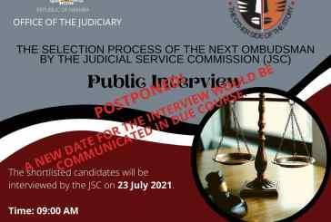 Ombudsman candidate hospitalised
