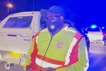 Oshana police on night duty