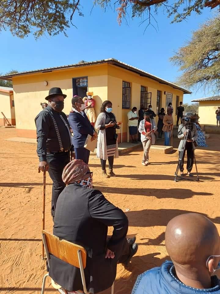 Otjinene emergency isolation centre Authorities Omaheke Covid-19 residents