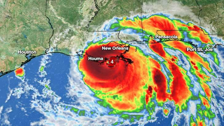 Gulf Mexico Hurricane Ida New Orleans United States