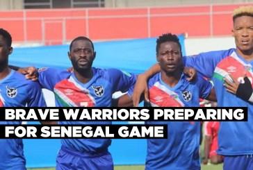 Brave Warriors preparing for Senegal game