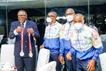 Geingob showers Paralympians with love