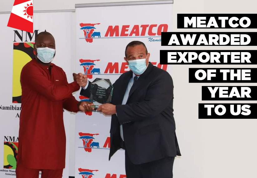 Meatco awarded Exporter United States beef exports