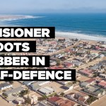 Pensioner shoots robber in self-defence