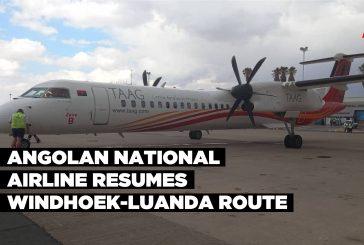 Angolan national airline resumes Windhoek-Luanda route