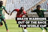 Brave Warriors out of the race for World Cup