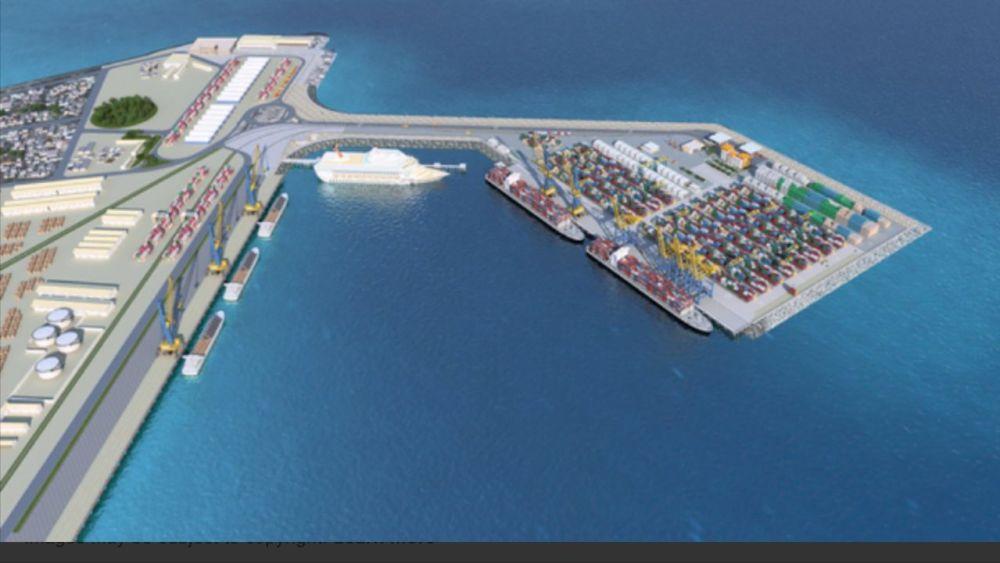 DUBAI Namport Walvis bay futuristic transport