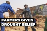 Farmers given drought relief
