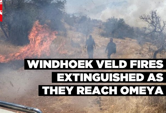 Windhoek veld fires extinguished as they reach Omeya