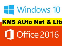 kmsauto net lite, activateur windows 10 et Office 2016
