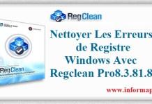 nettoyer Les Erreurs de Registre Windows Avec Regclean Pro
