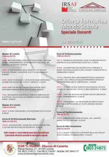 Locandina IRSAF - ISSR a.a. 2014-2015 (1)