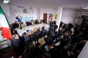 Raffaello Magi nella sala convegni del Magazine Informare - Photo credit Antonio Ocone