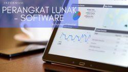 Pengertian Perangkat Lunak: Software, Fungsi, dan Jenis