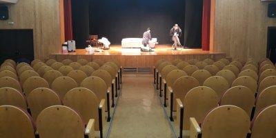La sala de Teatro del Centro Cultural Villa de Ardales, Málaga