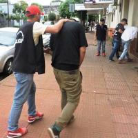 Tres pescadores de cajeros fueron detenidos en un hospedaje de Posadas