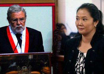 """Presidente del TC: libertad de Keiko Fujimori será resuelto """"con objetividad"""""""