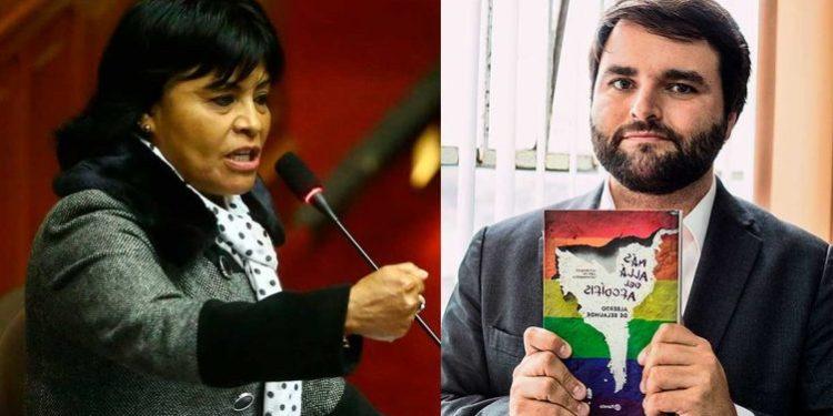 """Esther Saavedra a de Belaunde: """"Si quiere pelear, póngase faldas y vamos a la calle"""""""