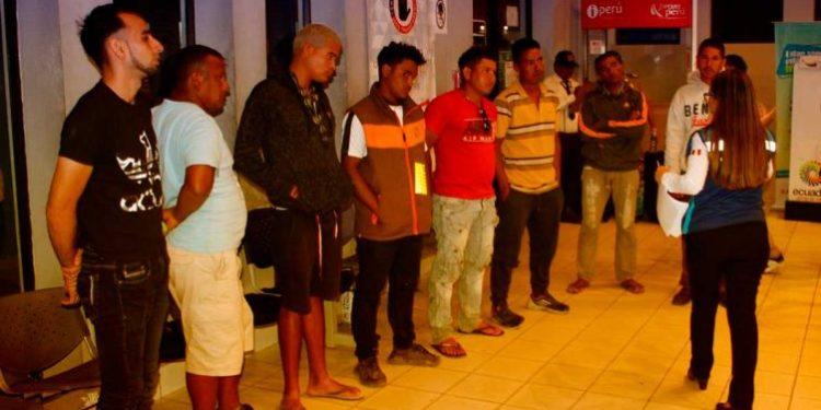 Intervienen a más de 150 venezolanos indocumentados en Tumbes