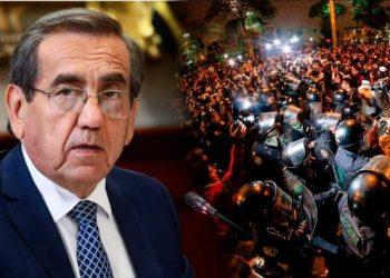 Jorge del Castillo hace llamado al país a no salir a las calles para evitar la violencia