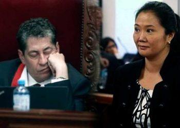Magistrado Eloy Espinosa Saldaña se quedó dormido durante audiencia