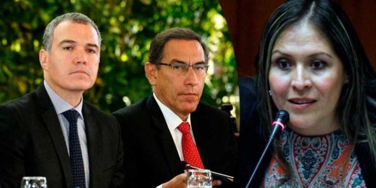 Vilcatoma denuncia a Vizcarra y Del Solar ante la Fiscalía de la Nación