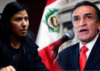 """Huilca: """"Permanencia en el Congreso de Becerril es un insulto a los peruanos honestos"""""""