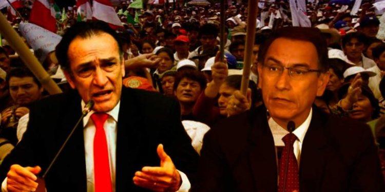 """Becerril: """"No se preocupen señores antimineros, Martín Vizcarra está de su lado"""""""
