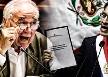 """García Belaunde responde a Vizcarra: """"no se puede hacer Cuestión de Confianza para elegir al TC"""""""