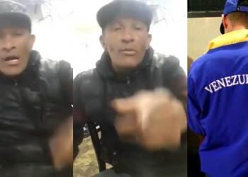 """La gente brava del Callao envía mensaje a venezolanos: """"Ven y descuartízame a mí"""""""