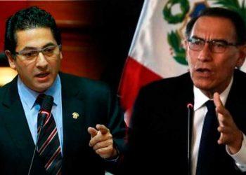 """Salvador Heresi: """"¡No vamos a permitir un golpe de Estado, primero vacamos a Vizcarra!"""""""