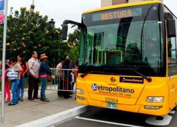 Desde este domingo 29 de setiembre, las rutas alimentadoras del Metropolitano costarán el doble de lo que cuestan hoy