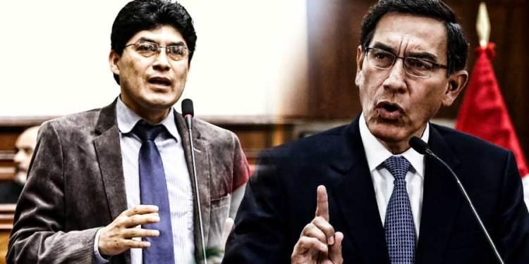 """Rogelio Tucto: """"Presidente Vizcarra no se mariconee, cierre este Congreso"""""""
