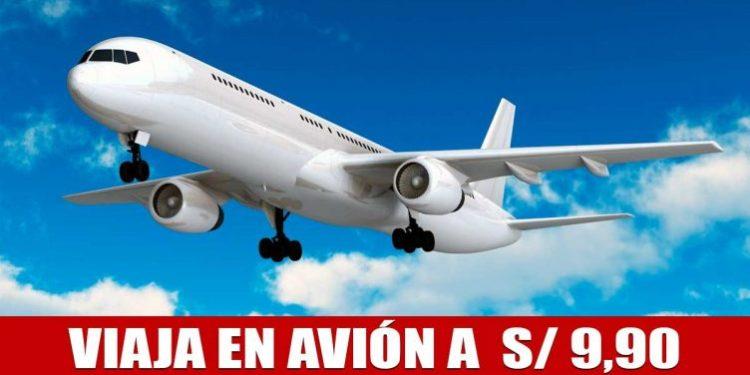 Oferta de 46 pasajes aéreos nacionales e internacionales a S/ 9,90